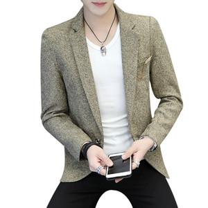 Wetailor marca Qualità uomo Autunno Suit Blazer Uomo Moda Slim maschile adatta giacca casual giacca maschile