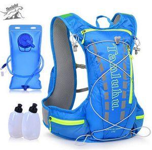 TANLUHU Trail Running Bag 15L Hydration Zaino da jogging Sport Vest Waist Pack per arrampicata corsa escursioni in bicicletta