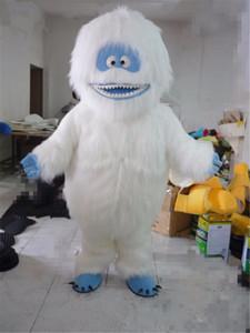 Bumble Abominable Kardan Adam Maskot Kostüm Noel Partisi Karakter Elbise Performans Suit Yetişkin Boyutu ücretsiz kargo