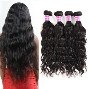Populaire Mink Brésilien Péruvien Indien Malais Cheveux Weave Bundles Vague Big Curly Virgin Hair Bundle Offres Remy Hair Non traité