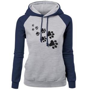Outono Nova Marca de Moda Hoodies Mulheres Pullover Sweater Camisolas 2018 Ursos Impressão Quente Feminino Hoodies Moletons S-3XL