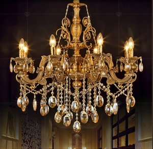 The creative fashion chandeliers candle crystal light for living room dining room bedroom lighting light fixtures