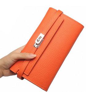 2018 Moda deri cüzdan dolar fiyat lüks çantalar bayan cüzdan tasarımcı yüksek kaliteli kart sahibinin debriyaj