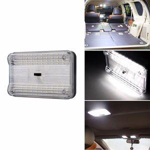 Lampes de lecture universelles de voiture 12 V White LED Lampe de voiture Source Lumières intérieures Lumières de toit en dôme Lampe de voiture 1 Pièce