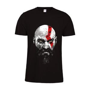 T-shirt Gamers 2018 de Geers Shirt Geek Shirt T-shirt graphique Kratos God Of War 4 T Shirt T-shirt de jeu