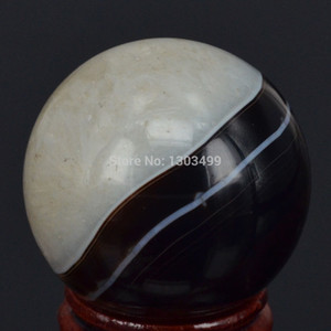 40MM Natural Gemstone Drusy Druzy Agate Sphere Crystal Ball Chakra Healing Reiki Stone Carving Crafts W Stand