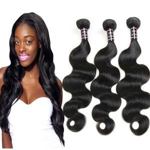 8A дешевые необработанные бразильский BodyWave человеческих волос 3bundles Оптовая перуанский Индийский малайзийский BodyWave волос ткать Бесплатная доставка
