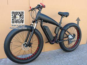 Горный велосипед цена электрический толстый велосипед 48 В 21 скорость 10A / 15A / 18A мотор 4.0 велосипед жирная шина горный велосипед 26 дюймов