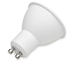 GU10 COB Lâmpadas LED, Lâmpadas de halogéneo 50W Equivalente, 5W, 550LM, Luz do dia / branco quente, Refletor LED, GU10
