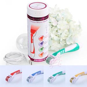 Nuevo 540 Micro Needles Derma Rolling System Micro Needle Roller Hyper Pigmentación Sistema de tratamiento Salud Belleza Equipos Envío gratis