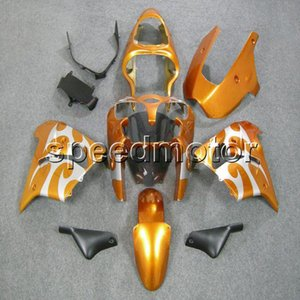 23colors + Gifts orange bodywork motocicleta Carenado para Kawasaki ZX9R 2000 2001 ZX-9R 00-01 kit de plástico ABS