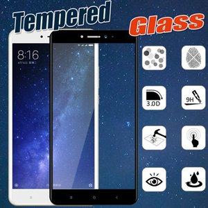 Углеродное волокно 3D закаленное стекло полное покрытие твердость защитная пленка для Xiaomi Mi 8 SE 6 Plus 6X 5 5C 5X 5S Примечание 3 Mix 2S Max 2