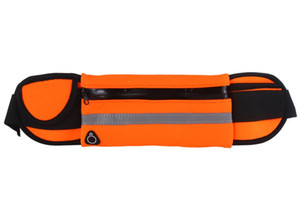 Free shipping Multi-functional Waist bag Neoprene running waist pack Convenient Outdoor mobilephone bag in different colors