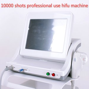 Tıbbi sınıf taşınabilir hifu makinesi 10000 çekim profesyonel kullanım hifu makinesi yüz germe cilt kaldırma kırışıklık kaldırma güzellik sistemi