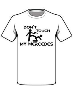 메르세데스 헤렌 Damen Kult 팬 스프 루크 T 셔츠 Geschenk Tshirt 인쇄 된 T 셔츠 남성면 T 셔츠 새로운 스타일 여름 짧은