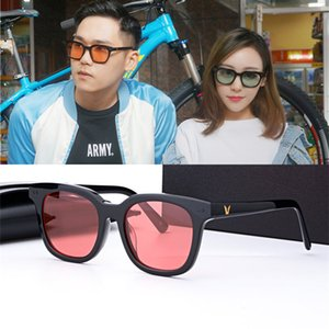 Korea Retro Sunglasses Brand Gentle Square Sunglasses Men Summer Style Color lens Sun Glasses gafas