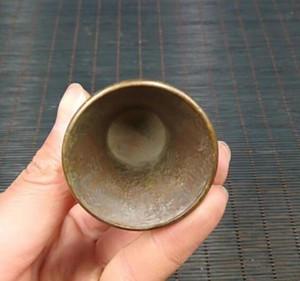 Dragon antique collection laiton Dragon Phoenix tasse un ensemble.