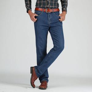 Männer Baumwolle Gerade Klassische Jeans Frühling Herbst Männliche Denim Hosen Overalls Designer Männer Jeans Hohe Qualität Größe 28-44 Heißer Verkauf
