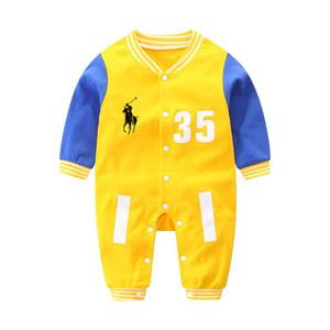 Fabbrica promozione cotone di alta qualità Nuovo 6-12 mesi di abbigliamento neonato modelli scoppio a maniche corte stampato tuta A001