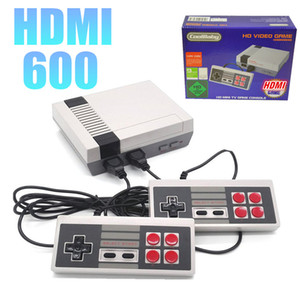 Handheld Ultra Console de Vídeo Game HDMI Preloaded 600 Retro Games Dual Gamepad Controla Retro Gaming Console Para PAL e Sistema NTSC