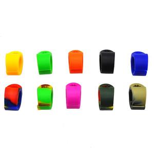 NUOVO silicone Holder fumatori Holder Ringholder / Tabacco / Joint Ring per dimensioni regolari (7-8mm) Cigarette mescolare Accessori di fumo colorato
