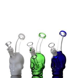crâne vape engrenage bong embouts de filtre bangs en verre pyrex tubes de pipe à eau clips tubes de chambre refroidisseurs plates-formes pétrolières dab contondants