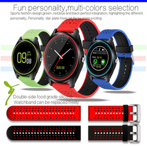 V9 smartwatch android V8 DZ09 U8 samsung الساعات الذكية SIM ساعة ذكية للهاتف المحمول يمكنها تسجيل حالة النوم Smart watch Passometer
