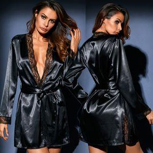 Women's pajamas, silk pajamas, underwear, waist belts, long skirts, fashionable home furnishings, bathrobes, sexy T pants suit.