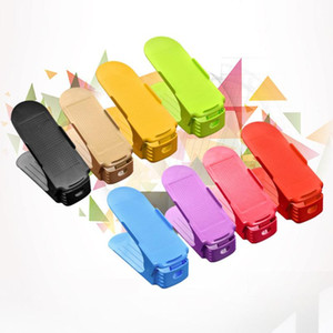 Novo Uso Doméstico Sapato Racks Modernos Sapatos De Armazenamento De Limpeza Dupla Rack Sala de estar Conveniente Shoeboxes Sapatos Organizador Stand Prateleira