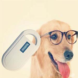 Portable Animal Identification Microchip Handhold Lettore di schede Lettore di animali domestici Bianco Lettore di etichette per tubi di vetro di alta qualità