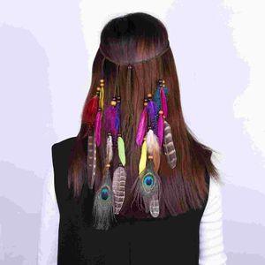 الساخنة الأوروبية والأمريكية ريشة والشعر الأزياء بوهيميا العرقية نوع الهبي سيدة مهدب الاكسسوارات دبوس الشعر
