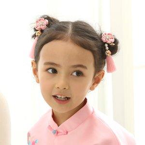 Çocuk Bebek Çocuk Kız Hairwear Headdress Seti Elmas Taç Takı Saç Pin Prenses Saç Klipler Saç Aksesuarları doğum günü partisi Hediye Kutusu A668