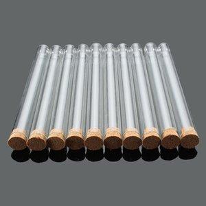 도매 - KICUTE 실험실 유리 테스트 튜브 코르크 스토퍼 15x150mm 실험실 학교 교육 용품 90pcs KKMFN
