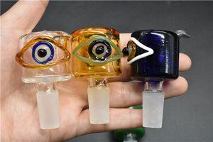 новый уникальный стеклянная чаша для стекла oi Рог бонги толстые слайды сухой травы чаша кусок 14 мм 18 мм мужской для курения чаши большой масляной горелки mix размер 2 шт.