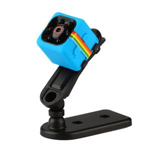 SQ11 Mini Dvs Camera HD 1080p Night Vision Camcorder Car DVR Videocamera a infrarossi Videoregistratore Sport Digital Camera Supporto TF Card DV Camera
