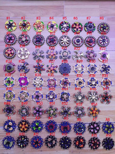 71 Stili Nuovi Doppi Cuscinetti Fidget Spinner EDC Triangle Axe Round Compass Metal Spinners mano Spinning Killing Time Fidget Spinner
