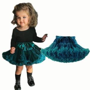 طفل الفتيات توتو تنورة رقيق الباليه الأميرة تول حزب الرقص الزفاف توتو التنانير للبنات الاطفال الملابس