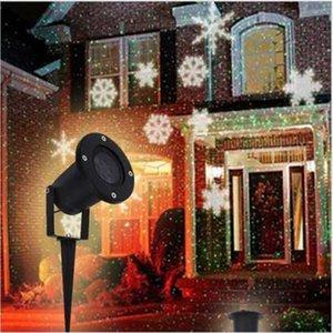 방수 눈송이 LED 크리스마스 램프 잔디 램프 야외 홈 정원 장식 LED 잔디 라이트 홈 소모품 핫 세일 파티 용품