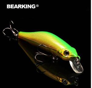 Bearking 8cm / 8.5g système d'aimant qualité pêche leurre, assortiment couleur minnow manivelle 2017 modèle chaud manivelle appât excellente peinture