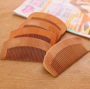 En gros 300pcs haute qualité Portable naturel pêche bois peigne barbe peigne poche peigne
