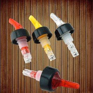 Quick Shot Espíritu Medida de medición Vino Vertedor Bebidas Vino Cóctel dispensador Home Bar Herramientas de restauración de la botella del canalón tapón HH7-1691