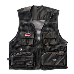 Directora pescador nueva marca de moda chaleco de las fuerzas especiales de los hombres chaleco táctico SWAT negro de malla de secado rápido Ropa