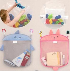 Sacchetto della maglia del bagno del bambino per il sacchetto del giocattolo dei bagni cestino dei bambini per i giocattoli le forme animali del fumetto del fumetto i giocattoli di sabbia impermeabili della spiaggia tirano la spiaggia TO409