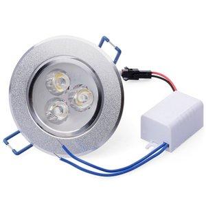 100x Venta caliente CREE 9W 12W LED Downlight Regulable Blanco cálido Blanco natural Blanco puro Empotrable LED Lámpara Spot Light AC220v 110v 12v