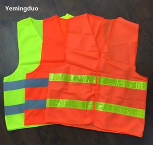 2018 Reflective Safety Clothing Trabalhador Limpar Saneamento Road Traffic Aviso de Alta Luz Coletes Refletivos