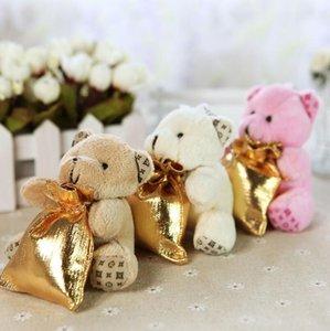 3 Farben Little Bear Mit Rucksack Hochzeit Süßigkeiten Taschen Für Baby Shower Hochzeit Dekorationen Party Supplies LX3930