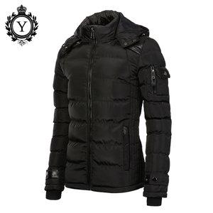 COUTUDI 2016 Baumwolle Warme Jacken Für Herren Schwarz Puffer Daunenjacke Mäntel Wasserdicht Plus Größe Männer Wintermantel Männlichen Qualität Parka