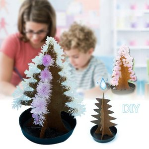 1pc Magic Growing Christmas Tree Crystal Paper Tree Christmas Decoration Science Toy New Year's products Z2