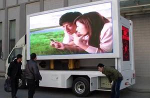TEEHO 모바일 트럭 P5 야외 비디오 월에 서명 광고판 LED 디스플레이 광고 6500cd 960x960mm 고휘도 LED 표지판