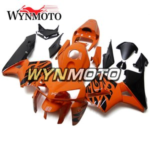 Ciclomotor carenados ABS Carrocería inyección para Honda CBR600RR F5 Año 2005 2006 05 06 Completo kit del carenado Naranja Negro